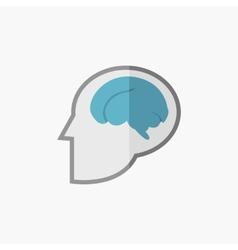 Brain Flat Icon vector