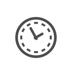 clock icon Symbol vector image