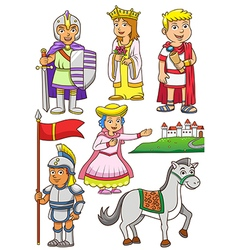 Greek Roman cartoon vector