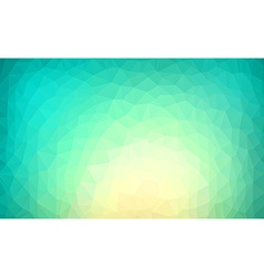 Vibrant polygonal background vector image