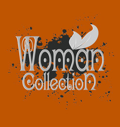woman collection decorative inspiracion 3d vector image