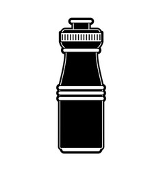 water bottle isolated vector image vector image