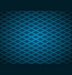 blue embossed pattern plastic grid vector image