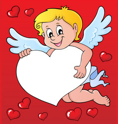 Cupid thematics image 7 vector
