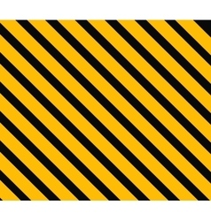 Danger background Orange and black stripes vector image