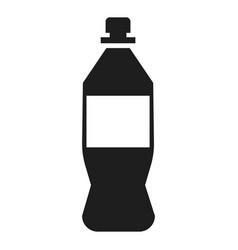 plastic bottle icon simple style vector image