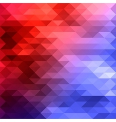 Red blue mosaic background vector