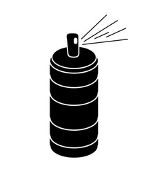 spray can container pictogram vector image