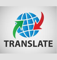 translation banner vector image
