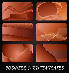business-card-templates-3 vector image