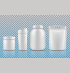 packaging layout vector image vector image