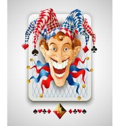 Picture Jolly Joker vector image vector image