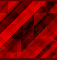 Abstract red background colorful mosaic vector