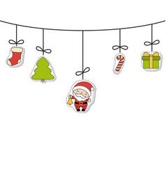 christmas greeting card christmas greeting card vector image