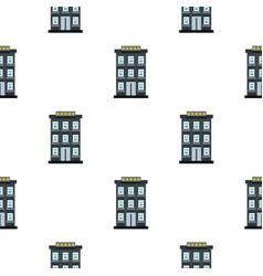 Hotel pattern flat vector