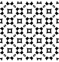 seamless pattern with rounded crosses squares vector image