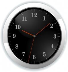 illustration of wall clock vector image vector image
