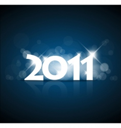 new years card vector image