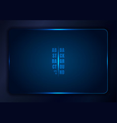abstract blue gradient template background vector image