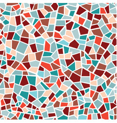 Abstract mosaic sheet seamless pattern geometric vector