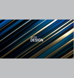 blue and golden layered surface vector image
