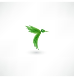 Hummingbird icon vector image