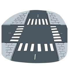 Intersection road vector