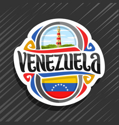 logo for venezuela vector image