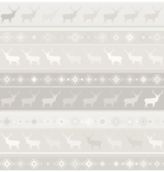 Norwegian seamless pattern EPS 8 vector image