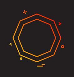 nuts icon design vector image