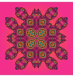 Oriental Floral Carpet Design Arabic style carpet vector image