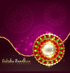 Raksha bandhan festival vector
