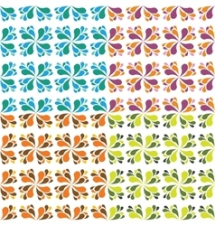 seamless drop patterns vector image