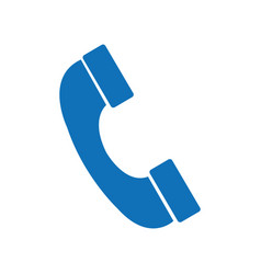 isolated phone design vector image