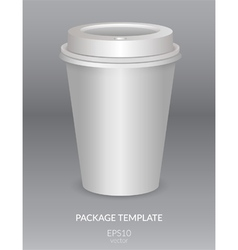 Package template vector image vector image