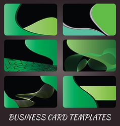 business-card-templates-5 vector image vector image