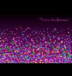 Confetti explosion backdrop vector