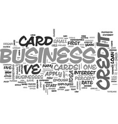 apply for a business credit card online the vector image