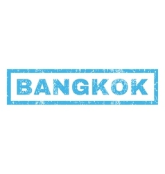 Bangkok Rubber Stamp vector image