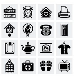 Homey icon set vector
