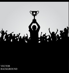 poster for sports championships and music concerts vector image