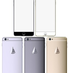 Smart phone set vector