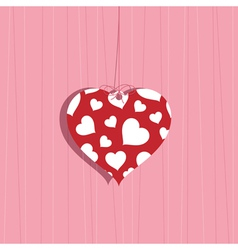 valentine decoration vector image