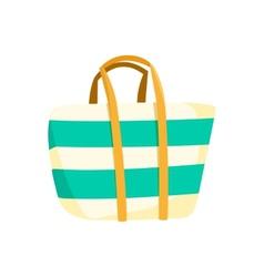 Bag beach accessory vector image vector image