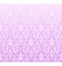 pink wallpaper pattern vector image vector image