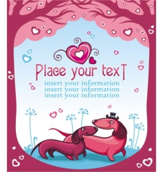 taxi love vector image