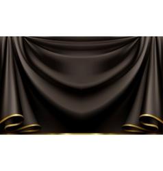 Luxury black background vector