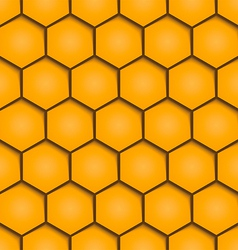 Abstract honeycombs background seamless geometric vector