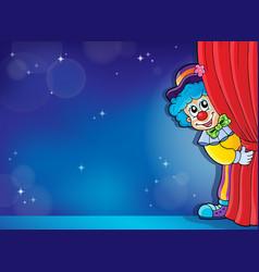 Clown thematics image 4 vector