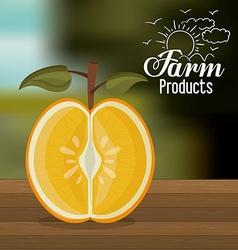 Farm Products design vector